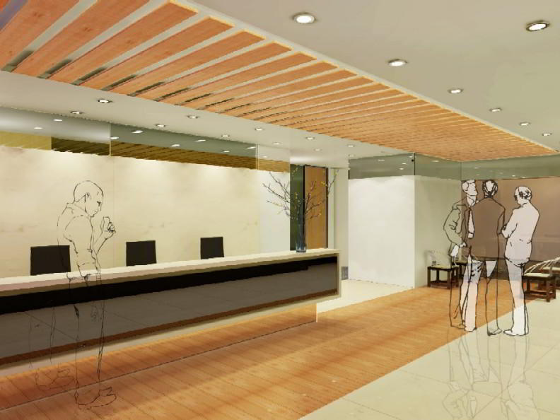 Receptionist Welcoming Area - Beijing Virtual Office