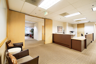 Receptionist and Mail Area - Bellevue Virtual Office