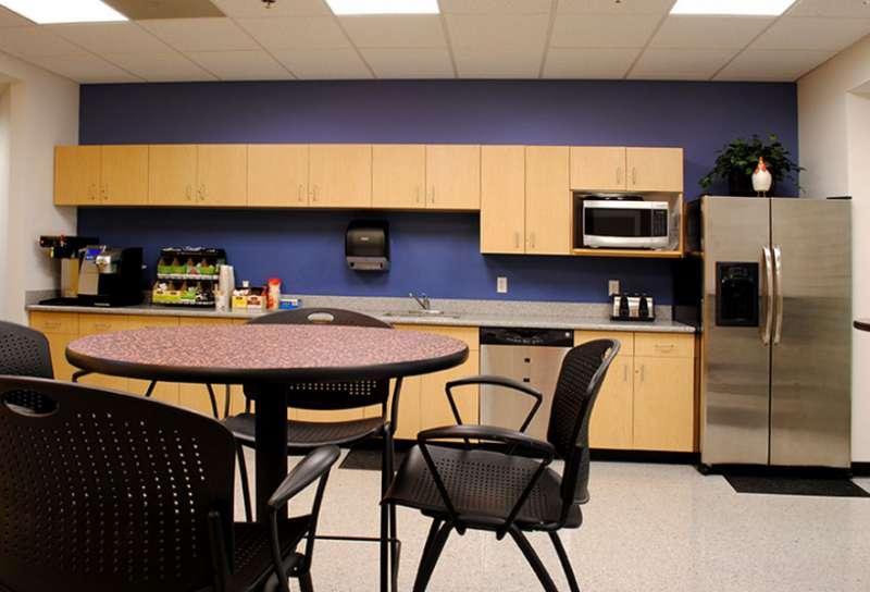 Break Area in Beverly Virtual Office