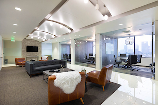 Beverly Hills Virtual Office Space - Comfortable Commons Area