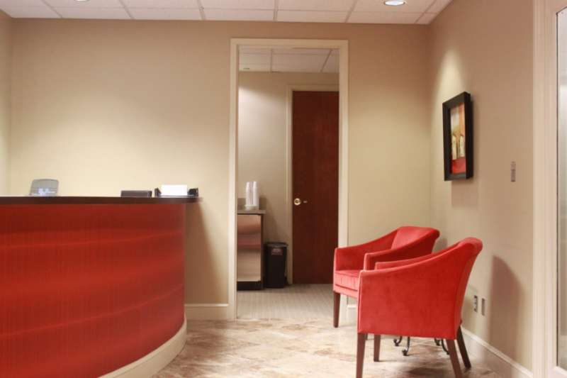 Receptionist and Mail Area - Birmingham Virtual Office