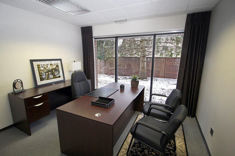 Temporary Bloomfield Hills Office - Meeting Room