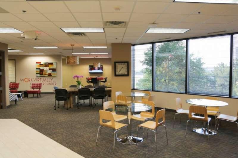 Bloomington Virtual Office Address - Lounge Commons Area