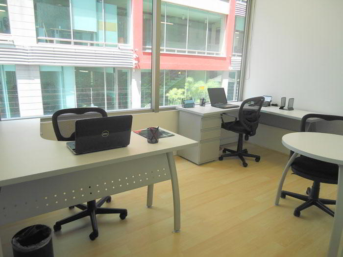 Bogota Virtual Office Space - Comfortable Commons Area