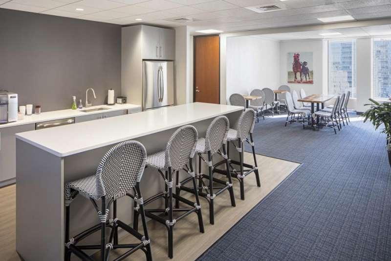 Break Area in Boston Virtual Office Space