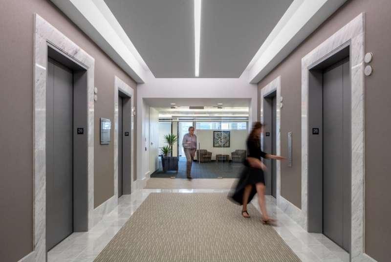 Boston Virtual Office Address - Lounge Commons Area