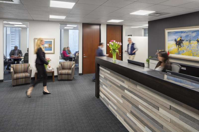 Receptionist and Mail Area - Boston Virtual Office