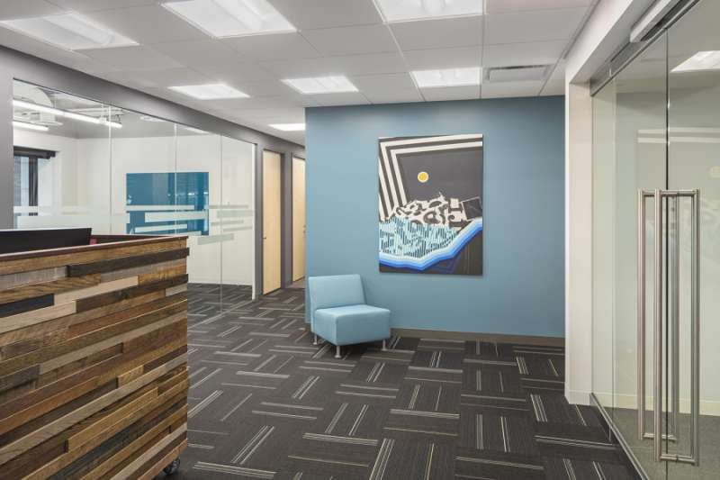 Receptionist Lobby - Virtual Offices in Boston