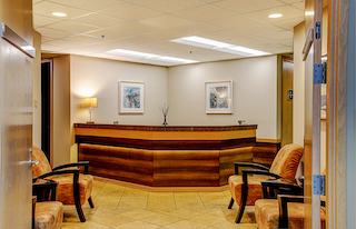 Receptionist and Mail Area - Bothell Virtual Office
