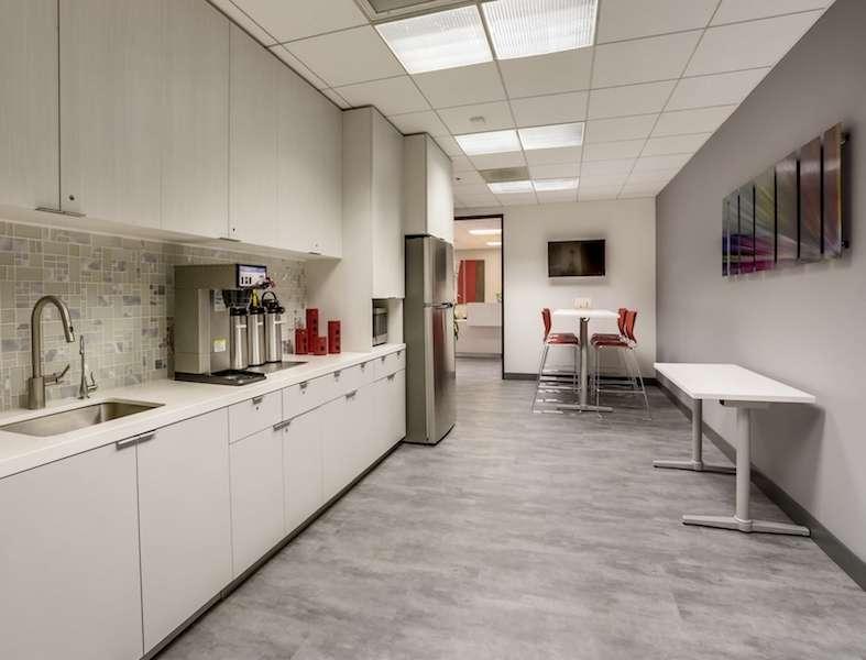 Break Area in Burbank Virtual Office Space