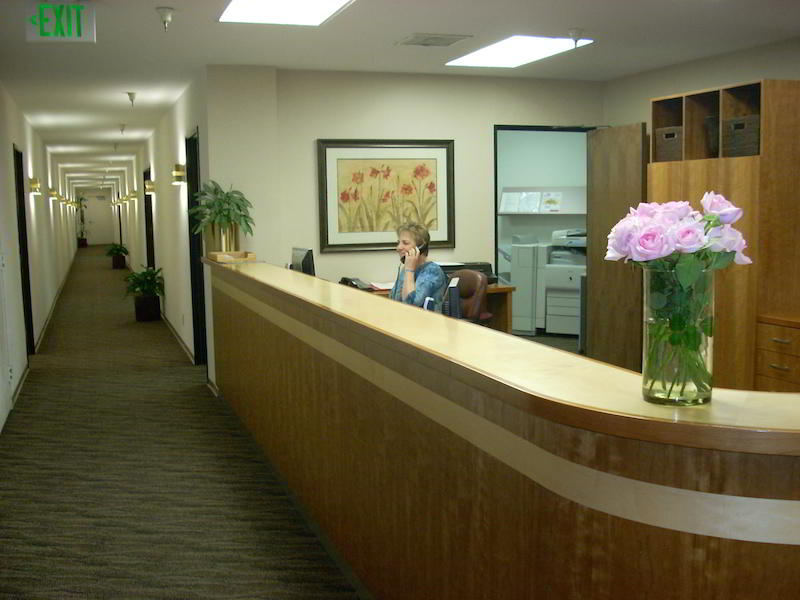 Receptionist Lobby - Virtual Offices in Burlingame