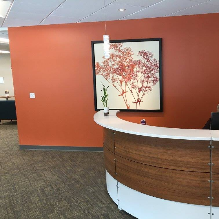 Burlington Live Receptionist and Business Address Lobby