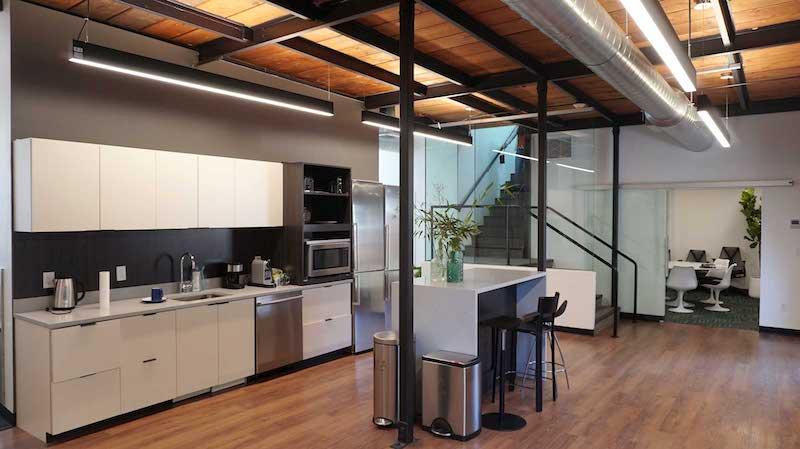 Break Area in Cambridge Virtual Office
