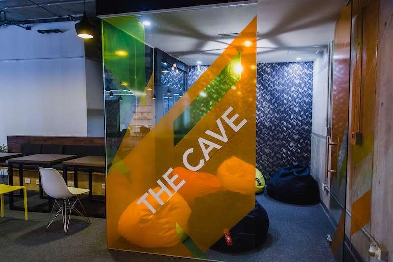 Break Area in Cancun Virtual Office Space