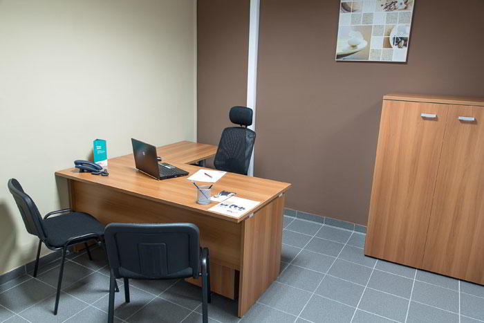 Cayenne Temporary Private Office or Meeting Room