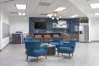 Break Area in Century City Virtual Office Space