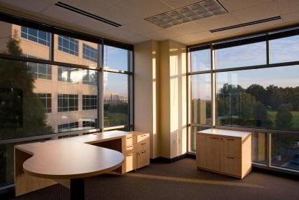 Temporary Charlotte Office - Meeting Room