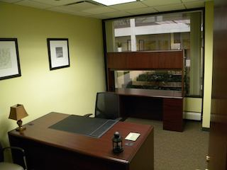 Temporary Chicago Office - Meeting Room