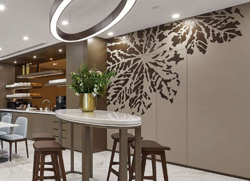 Break Room - Kitchen Area - Chongqing Virtual Office