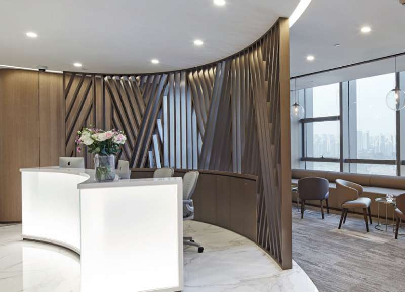 Chongqing Live Receptionist and Business Address Lobby