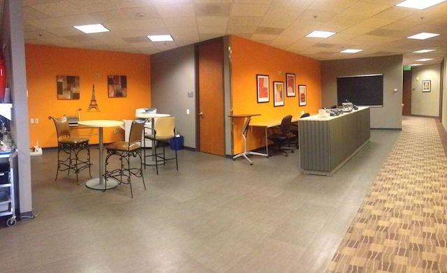 Colorado Springs Virtual Office Address - Lounge Commons Area