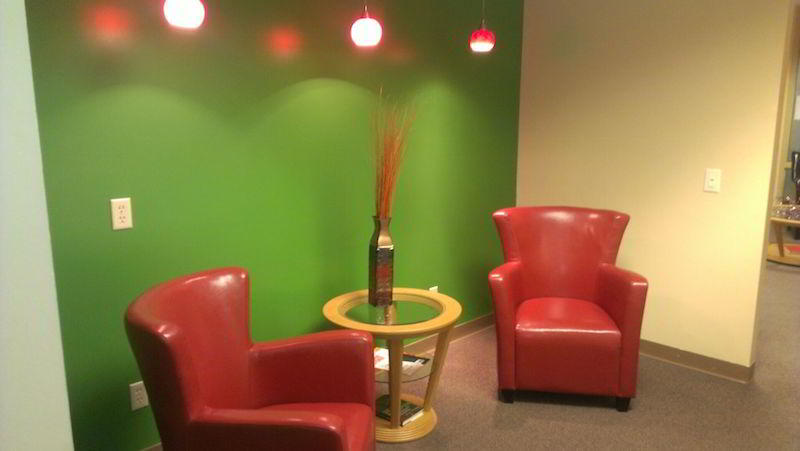 Colorado Springs Virtual Office Space - Comfortable Commons Area