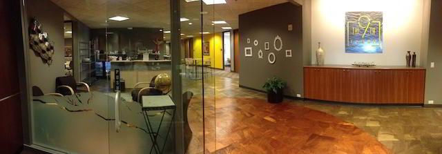 Receptionist Lobby - Virtual Offices in Colorado Springs
