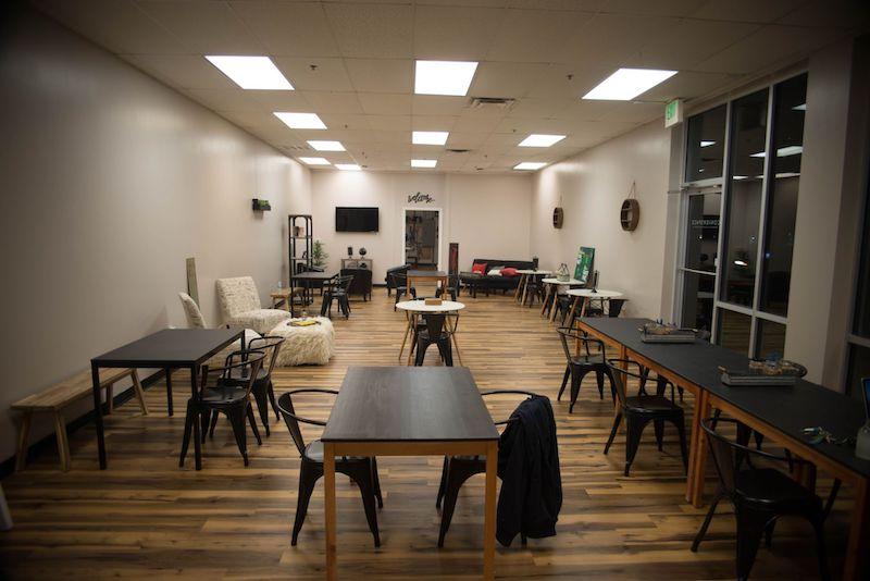 Columbia Busines Address - Lounge Area