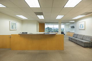Receptionist Lobby - Virtual Offices in Culver City