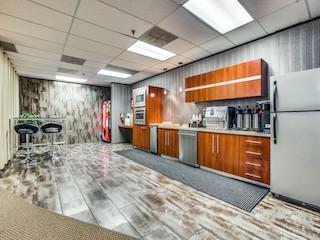 Break Area in Dallas Virtual Office