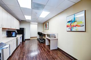 Break Room - Kitchen Area - Dallas Virtual Office