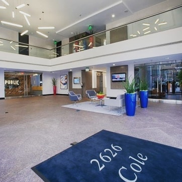 Receptionist Lobby - Virtual Offices in Dallas