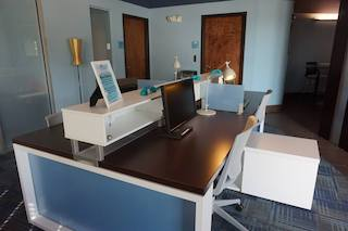 Receptionist and Mail Area - Delray Beach Virtual Office