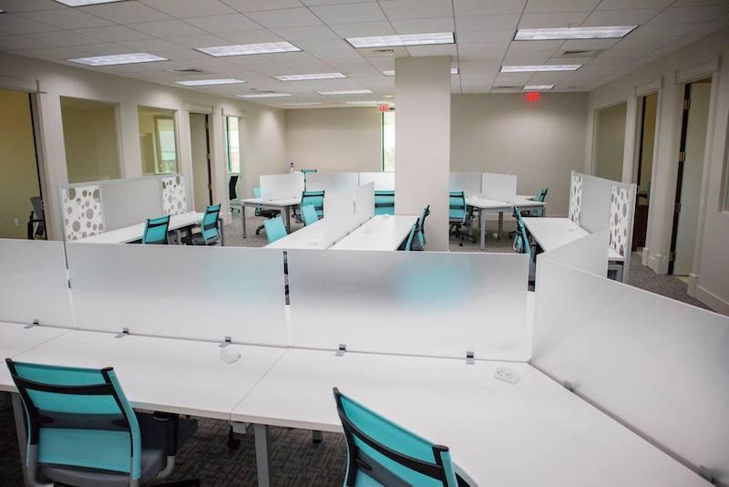 Destin Virtual Office Space - Comfortable Commons Area