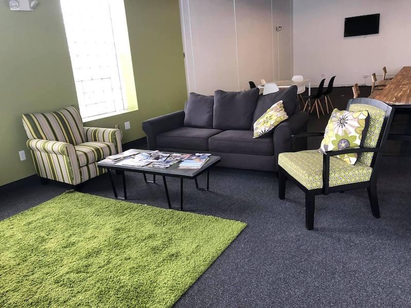 Detroit Virtual Office Address - Lounge Commons Area