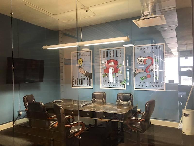Stylish Detroit Meeting Room
