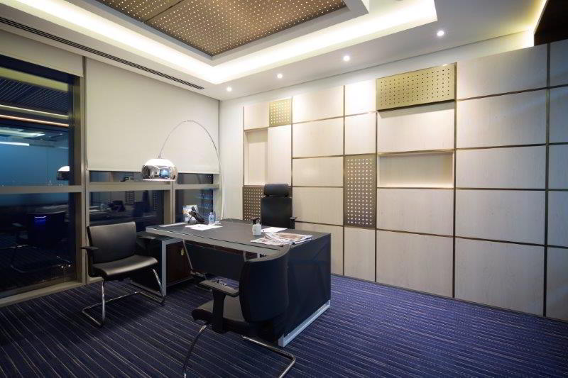 Temporary Doha Office - Meeting Room