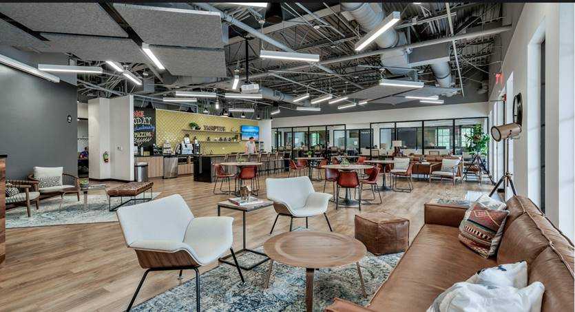 Doral Virtual Office Space - Comfortable Commons Area