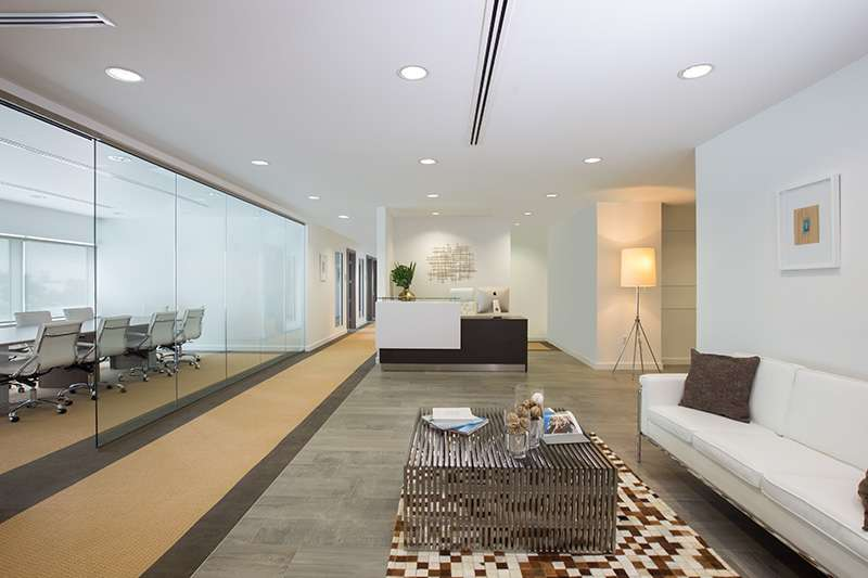Doral Live Receptionist and Business Address Lobby