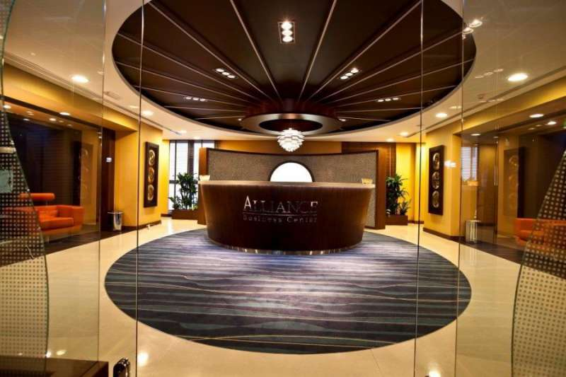 Receptionist Lobby - Virtual Offices in Dubai