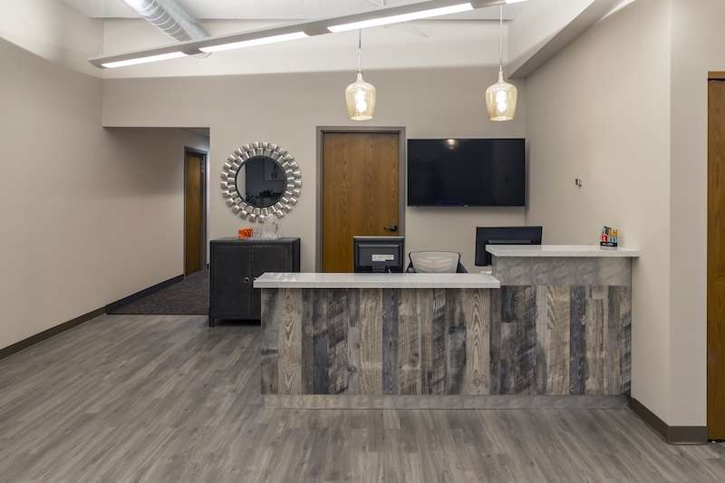 Receptionist and Mail Area - Edina Virtual Office