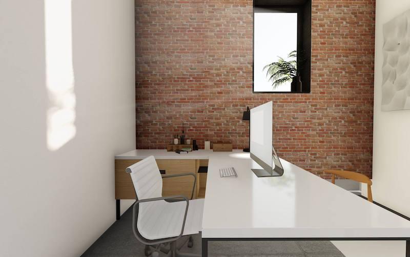 Temporary El Paso Office - Meeting Room