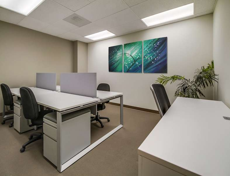 Encino Virtual Office Space - Comfortable Commons Area