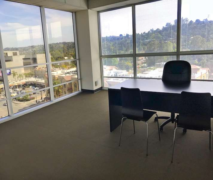 Temporary Encino Office - Meeting Room