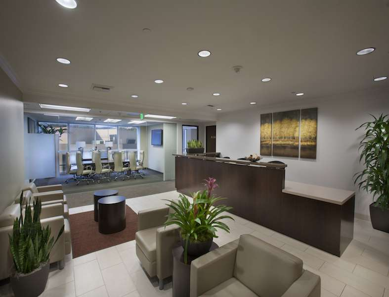 Receptionist Lobby - Virtual Offices in Encino