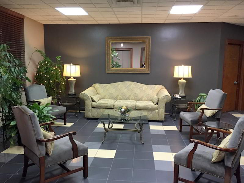 Erie Live Receptionist and Business Address Lobby