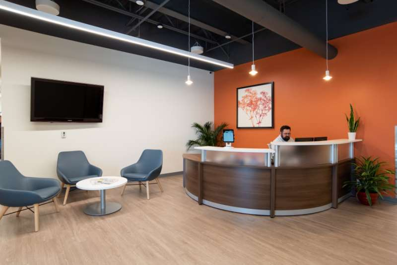 Receptionist Lobby - Virtual Offices in Fishers