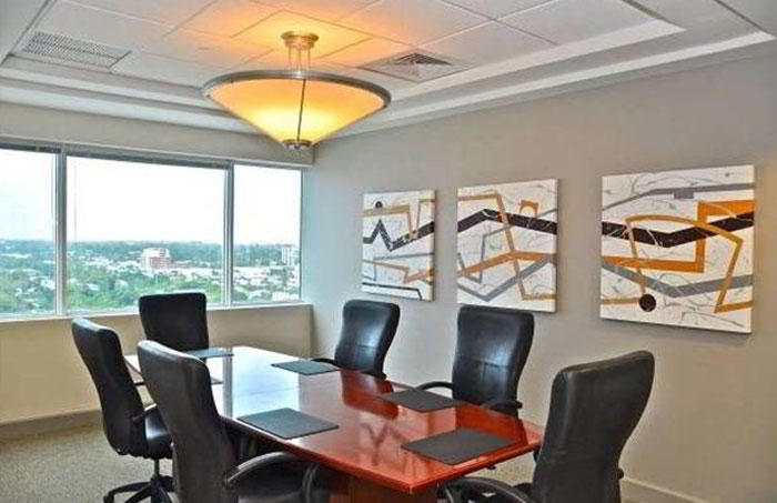Stylish Ft. Lauderdale Meeting Room