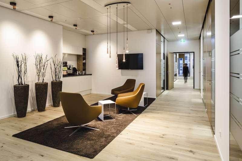 Frankfurt am Main Busines Address - Lounge Area