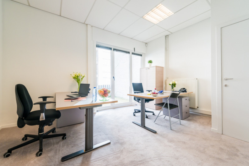 Gent Virtual Office Space - Comfortable Commons Area